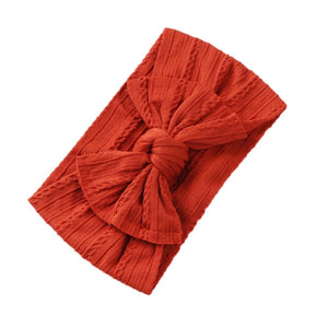 Duchess Bow Headband | Coral