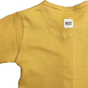 MLW By Design - Ribbed Zipped Long Sleeve Onesies | 5 Colours