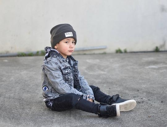 Ballerinas and Boys - Kids Acid Wash Denim Jacket