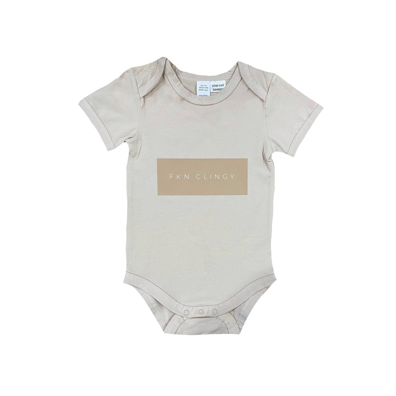 MLW By Design - FKN CLINGY Bodysuit | Sand