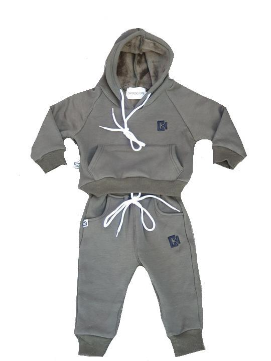 Carrington Kids - Tracksuit Set Olive