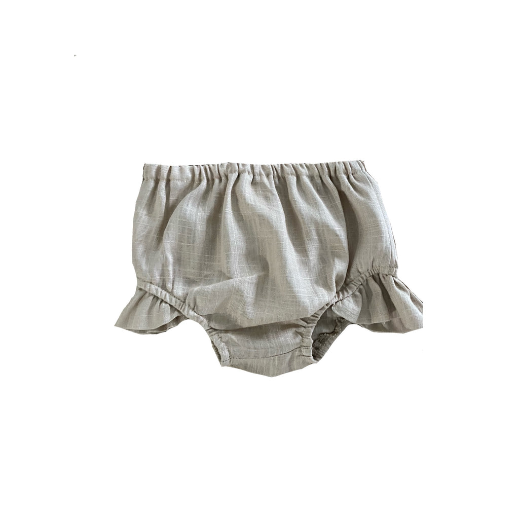 MLW By Design - Indie Linen Bloomers | Stone