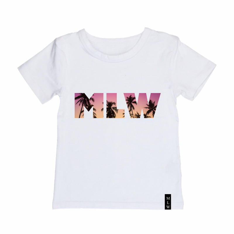 MLW By Design - Sunset Tee | White or Black
