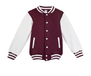 MLW By Design - Personalised Varsity Jacket | Red & White *LIMITED EDITON*