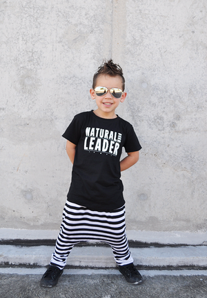 TPTB - Natural Born Leader Tee | Black