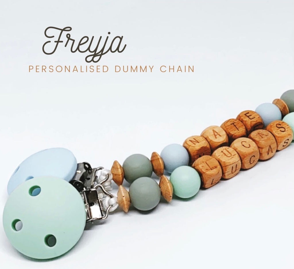 Babydoo - Freyja Personalised Dummy Chain