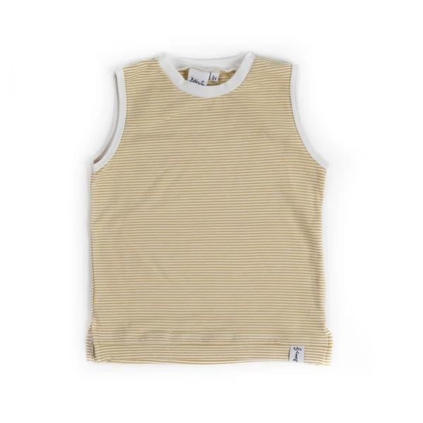 Bobby G Baby Wear - Stripey Lemonade Tank Top