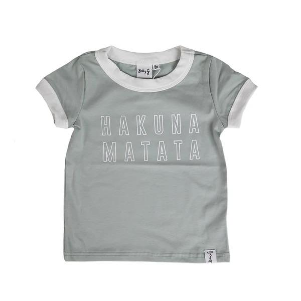 Bobby G Baby Wear - Hakuna Matata Sea Foam Blue