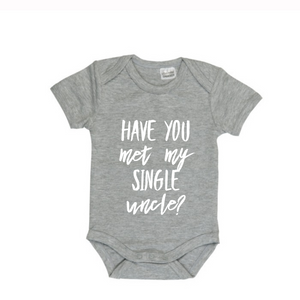 MLW By Design - Have You Met My Single Uncle Bodysuit