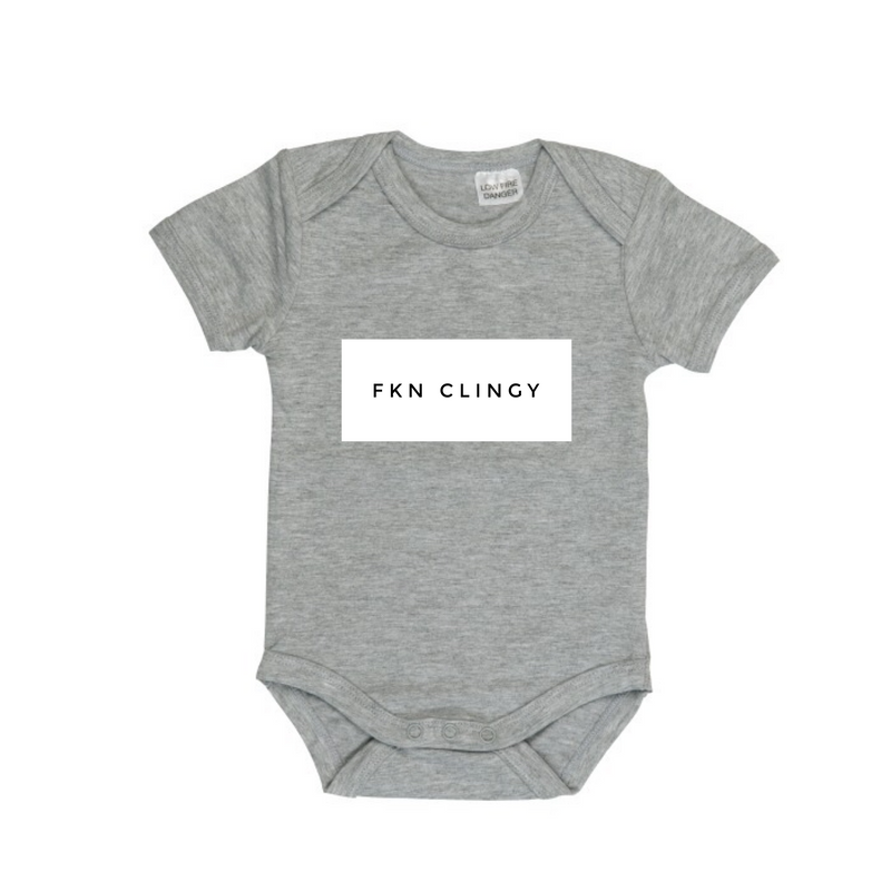 MLW By Design - FKN CLINGY Bodysuit | Grey