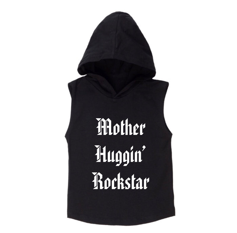 MLW By Design - Rockstar Sleeveless Hoodie | White or Black