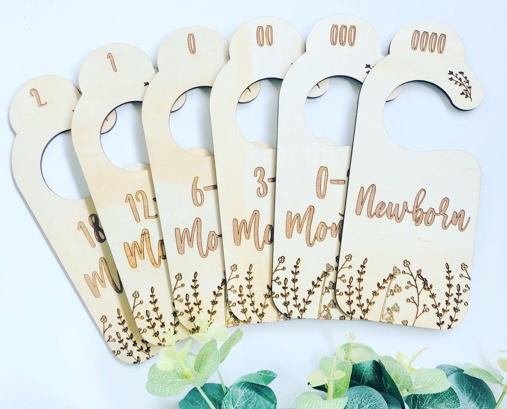 Timber Tinkers - Botanical Nursery Wardrobe Dividers