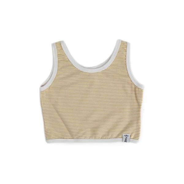 Bobby G Baby Wear - Crop Top Stripey Lemonade