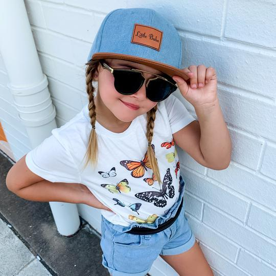 Mini Maxwell - Denim Little Babe Snapback