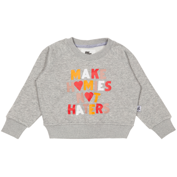 The Little Homie - Hater Sweater | Grey