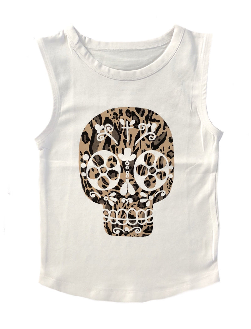MLW by Design - Hippie Leopard Skull | Black or White