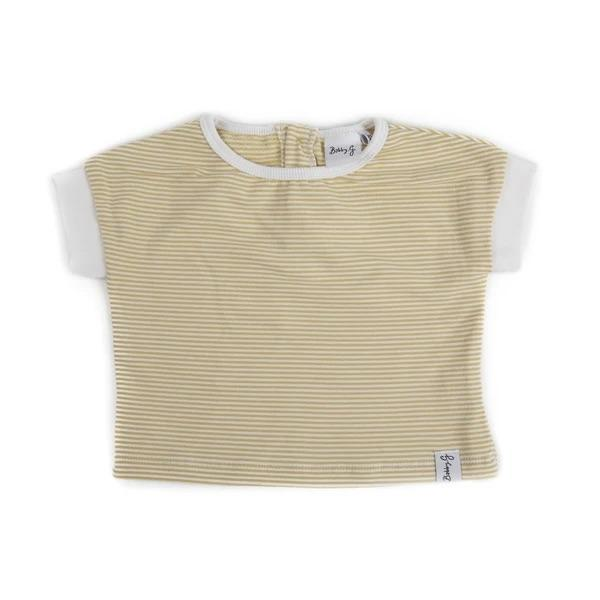Bobby G Baby Wear - Spring Tee Stripey Lemonade