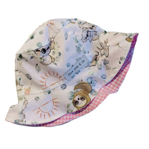 Olive June and Co - Sun Bucket Reversible Hat | Snuggle Buddies