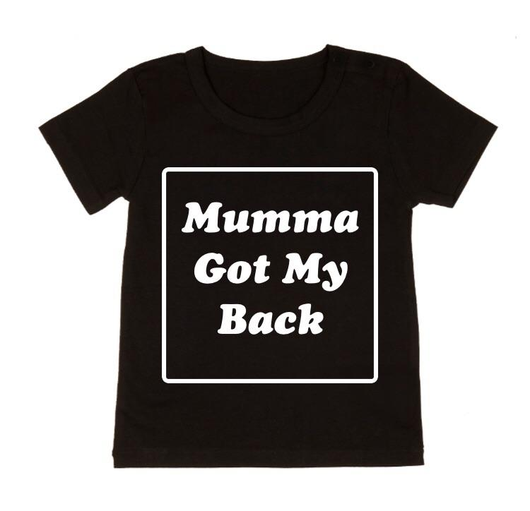 MLW By Design - Mumma Got My Back | Black or White