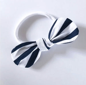 Olive June and Co - Handmade Mini Knot Headband | In The Navy
