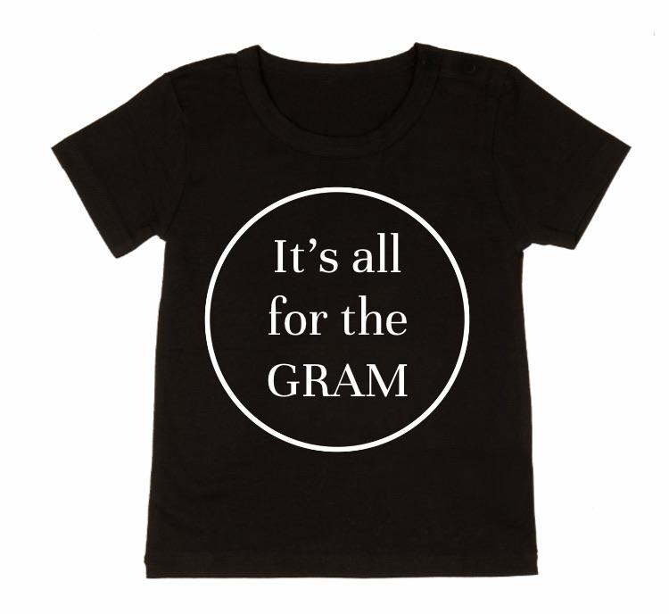 MLW By Design - All For The Gram Tee | Black or White