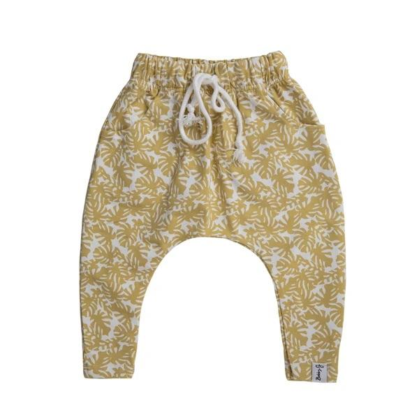 Bobby G Baby Wear - Harem Pants Monstera