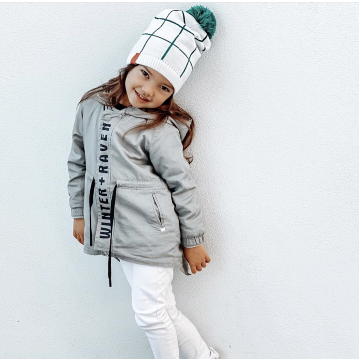 Mini Maxwell - Checkers Beanie