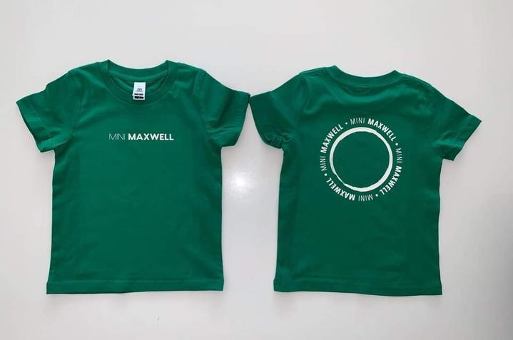 Mini Maxwell - Maxwell Circle Tee | Green