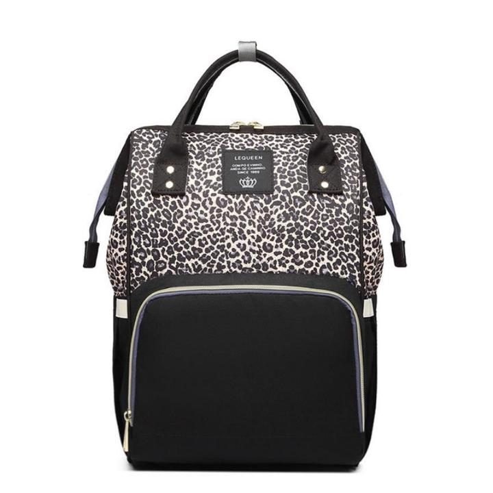 Nappy Bag Leopard Diva | Brown