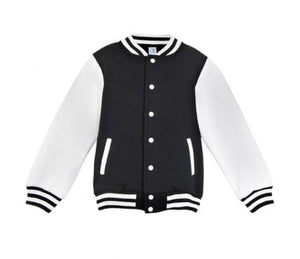 MLW By Design - Personalised Varsity Jacket | Navy & White