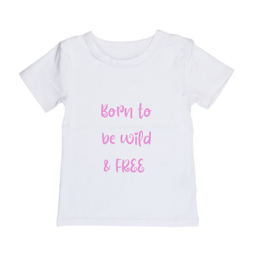 MLW By Design - Born To Be Wild Tee | Black or White
