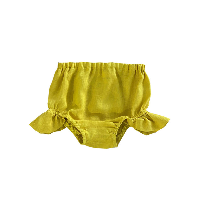MLW By Design - Indie Linen Bloomers | Mustard