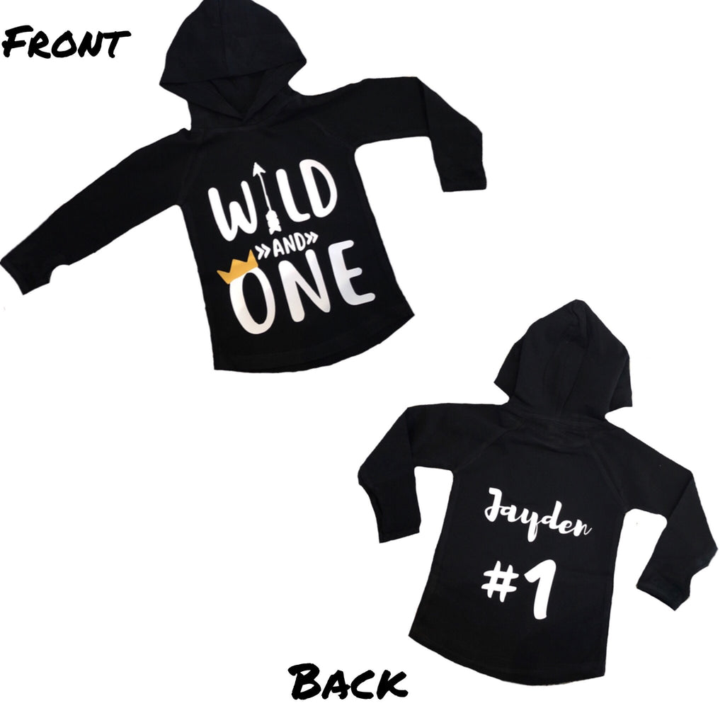 MLW By Design - Wild One Personalised Hoodie