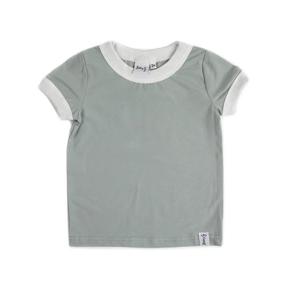 Bobby G Baby Wear - Sea Foam Blue Tee
