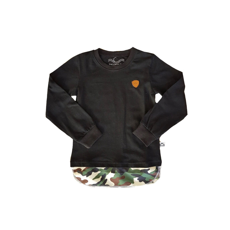 Carrington Kids - Camo Tall Long Sleeve Top