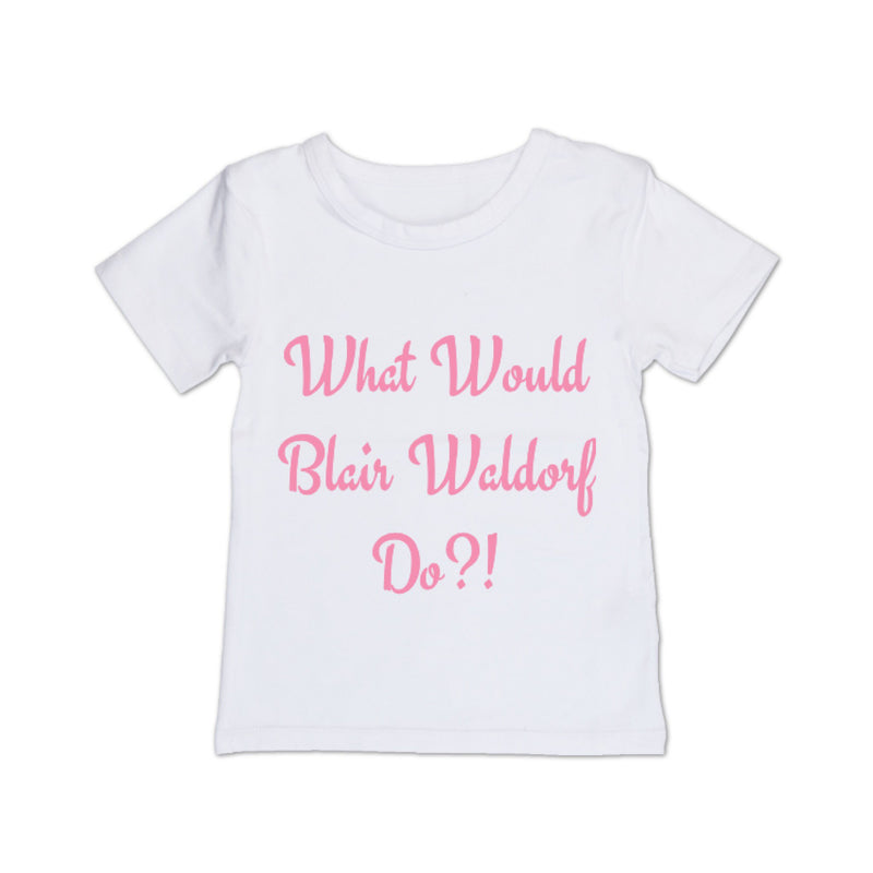 MLW By Design - Blair Waldorf Tee | Black or White