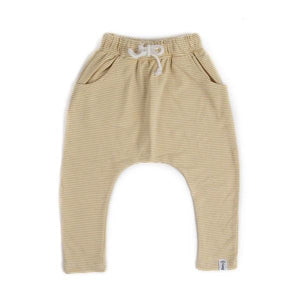 Bobby G Baby Wear - Harem Pants Stripey Lemonade