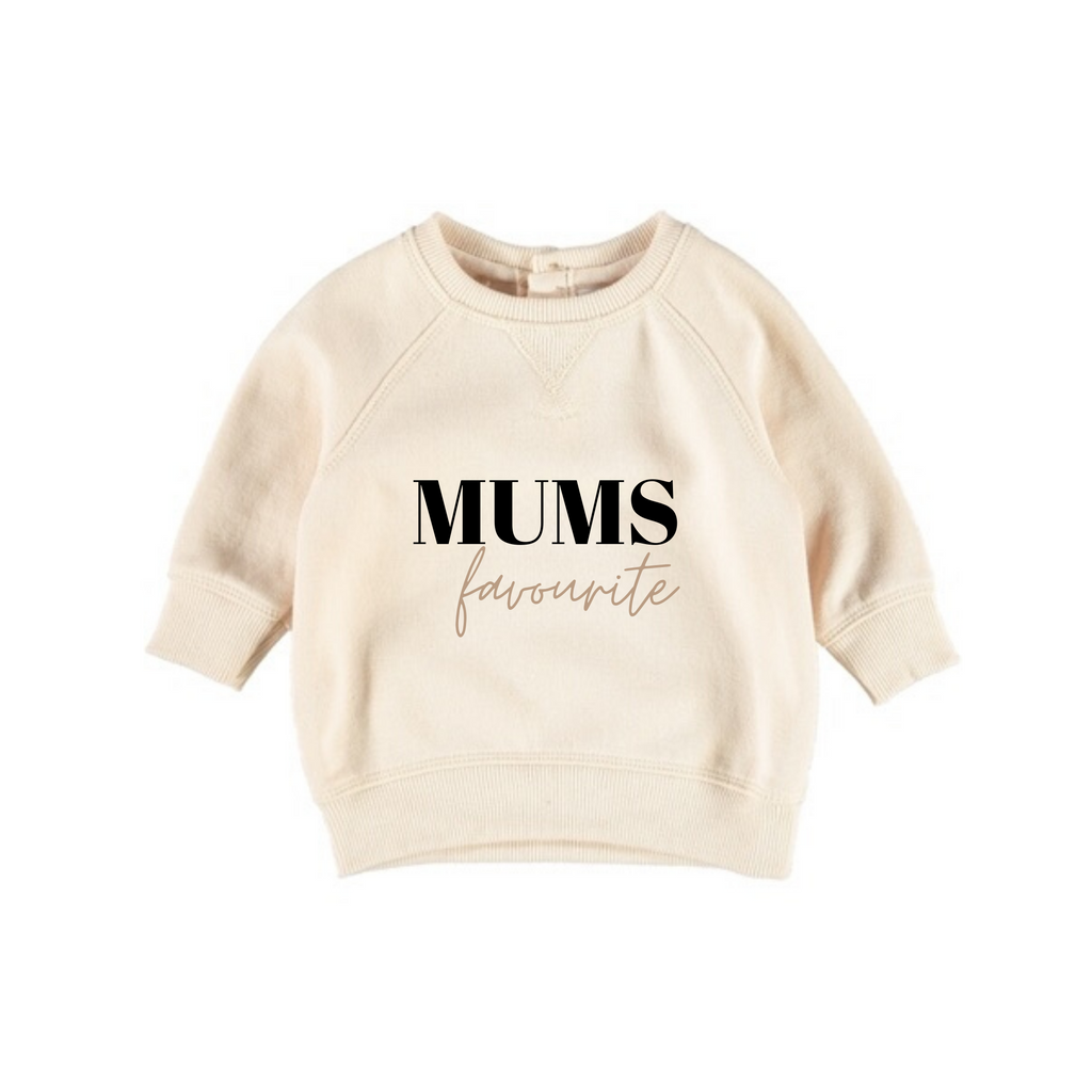 MLW By Design - Mum's Favourite Neutral Crew