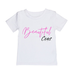 MLW By Design - Beautiful Chaos Tee | Black or White