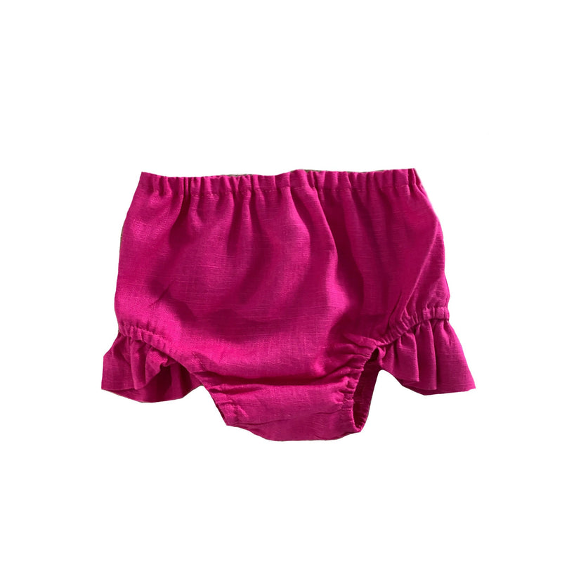 MLW By Design - Indie Linen Bloomers | Hot Pink