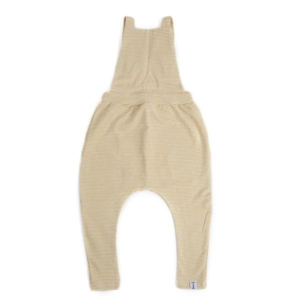 Bobby G Baby Wear - Stripey Lemonade Overalls