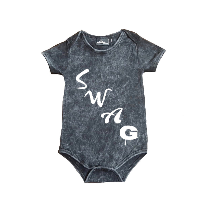 MLW By Design - SWAG Stonewash Bodysuit