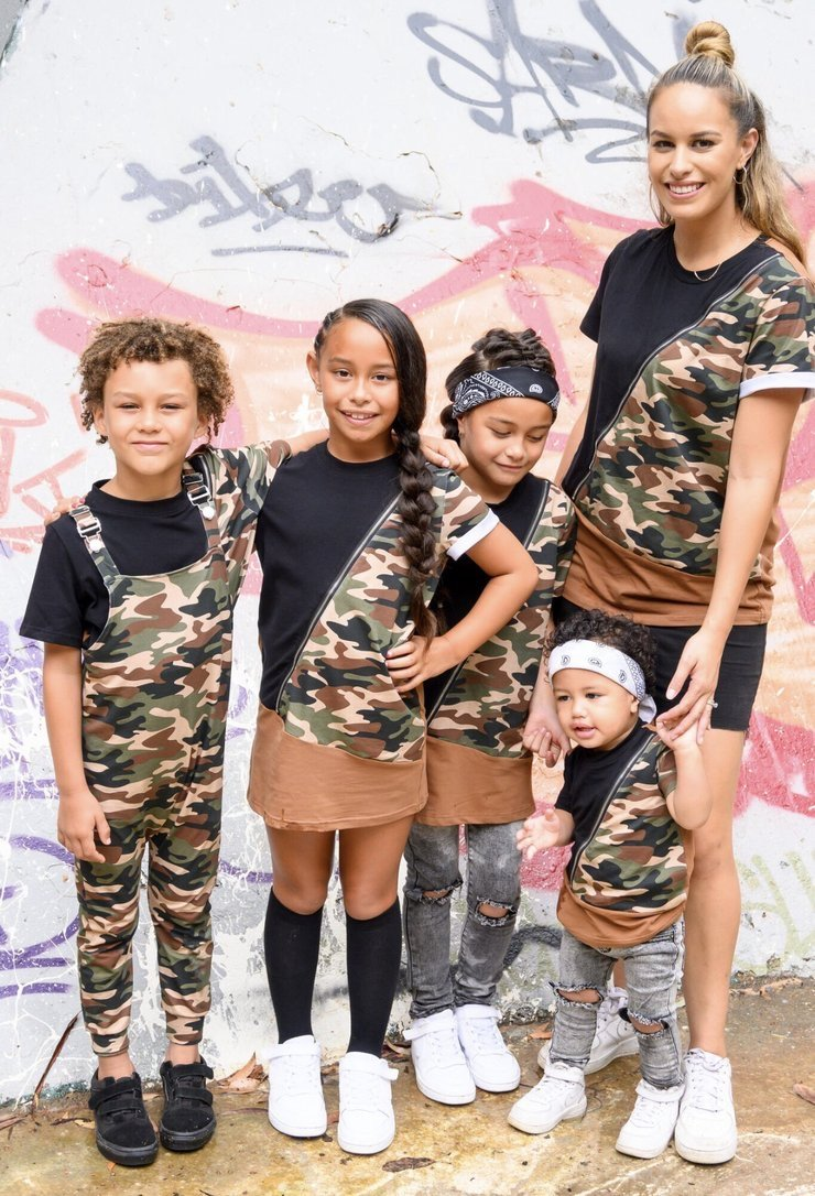 Ballerinas and Boys - Adults Camo Tee