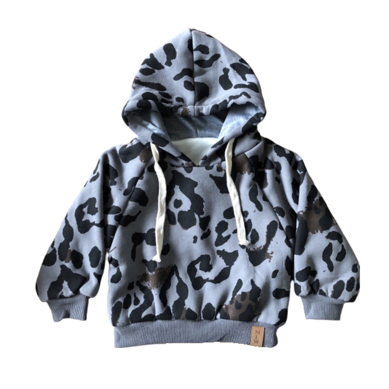 MLW By Design - Wildcat Winter Hoodie | Grey