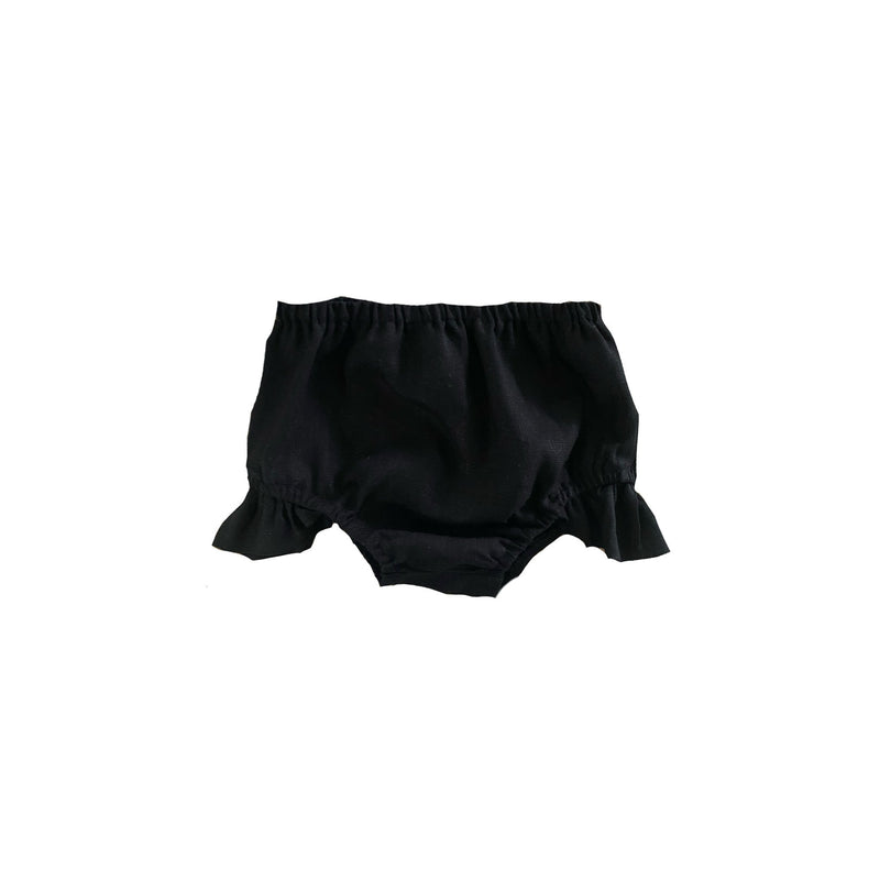 MLW By Design - Indie Linen Bloomers | Black