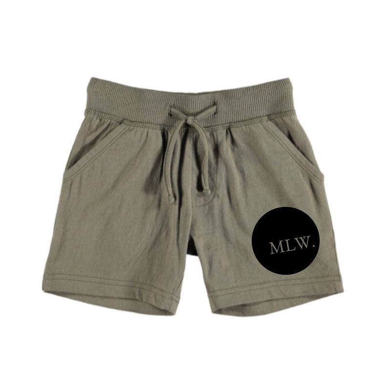MLW By Design - Signature Shorts Green