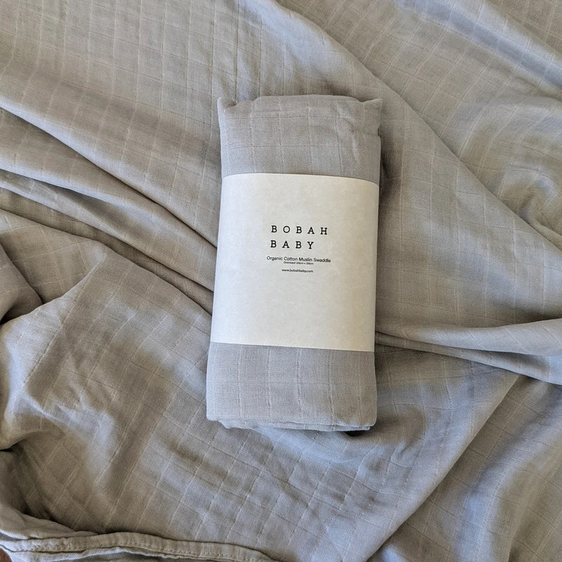 Bobah Baby - Organic Cotton Muslin Swaddle | Casper