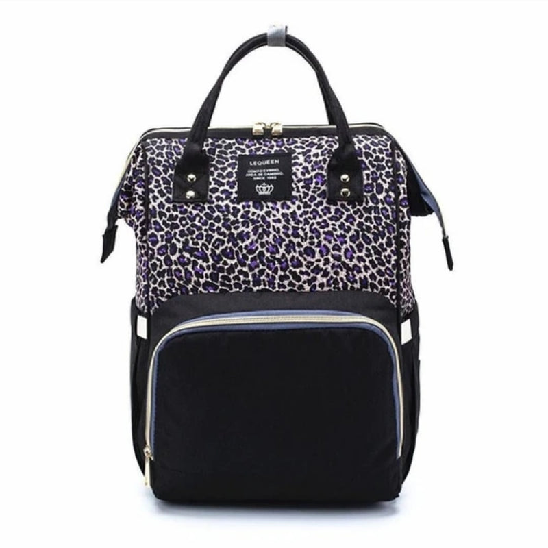 Nappy Bag Leopard Diva | Purple