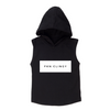 MLW By Design - FKN Clingy Sleeveless Hoodie | Black or White
