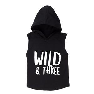 MLW By Design - Wild & Three Hoodie | White or Black